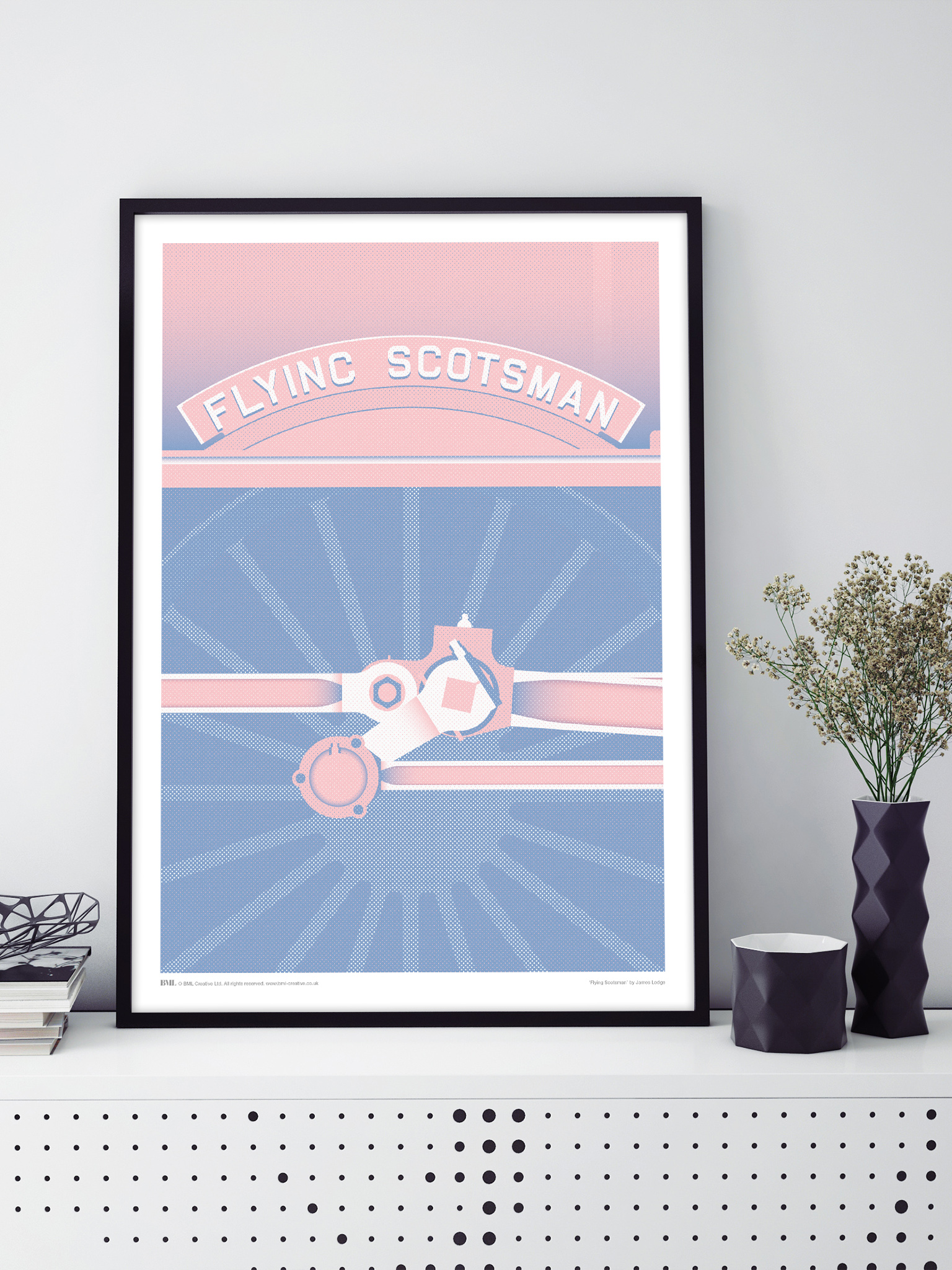 Wall o'Fame - Icons: Flying Scotsman