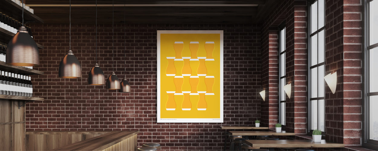 A Night on the Tiles print